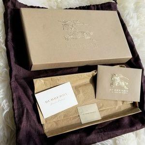BURBERRY belt box dust bag card & envelope ect